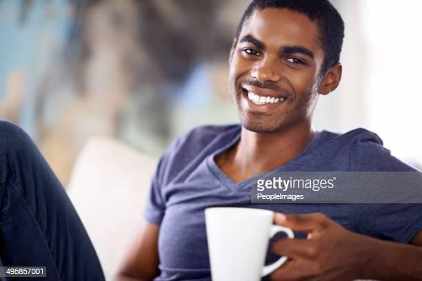 Es gibt nichts Schöneres als eine erfrischende Tasse Kaffee