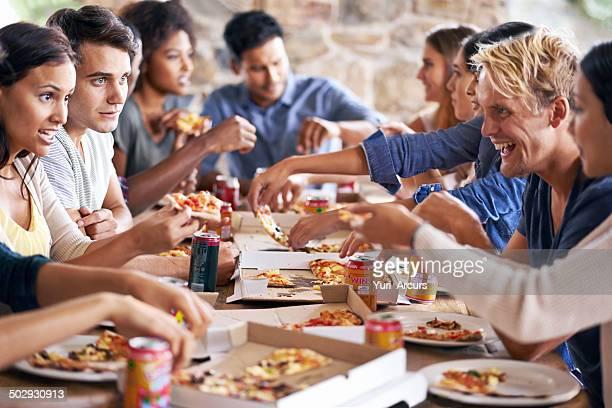 Il y a une pizza pour tous