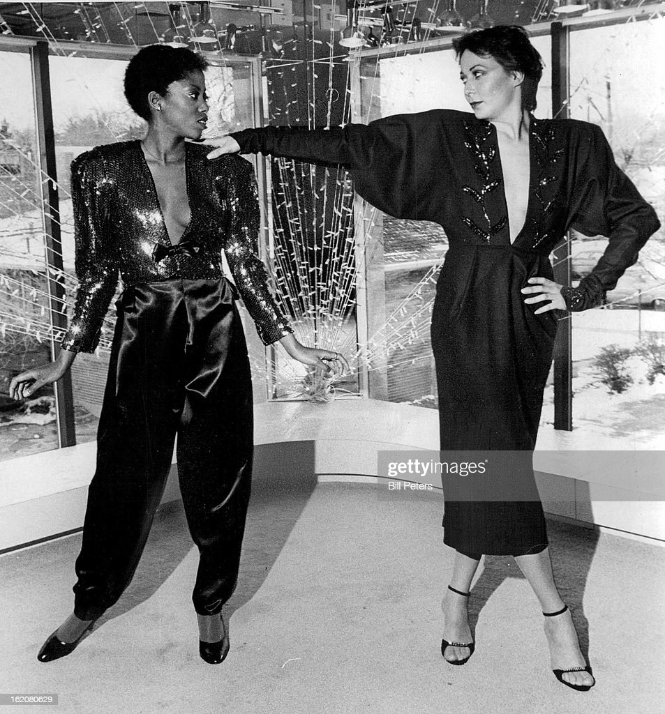 DEC 14 1979 JAN 3 1980 JAN 6 1980 There's sparkle in William Rich's sequin jacket left and in bugle beads on Frank Archoeta's wool dress