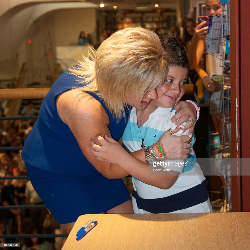"Medium"" Star Theresa Caputo Signs Copies Of Her New Book ""There&#39..."