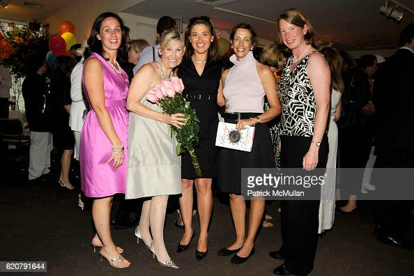 Theresa Kenney Sperber Nicole Sexton Anne Kenney Jacqueline Blandi and Lizzie O'Hara attend 'PARTY FAVORS' by Nicole Sexton Book Release Party at...