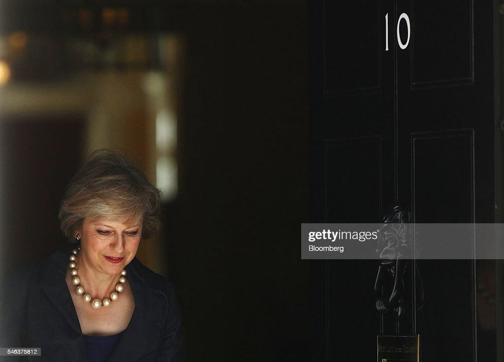 Theresa May UK home secretary departs a cabinet meeting in 10 Downing Street in London UK on Tuesday July 12 2016 May now has just two days rather...