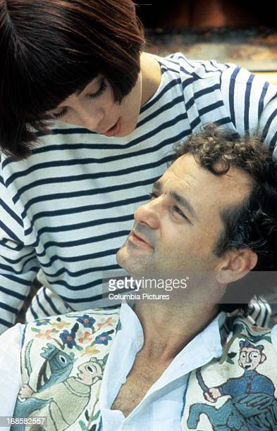 Theresa Russell and Bill Murray in a scene from the film 'The Razor's Edge' 1984