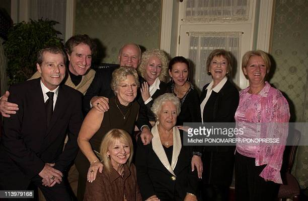 Therese Dion mother of Superstar Celine Dion launches her autobiography In Montreal Canada On November 07 2006Surrounded by her family including...