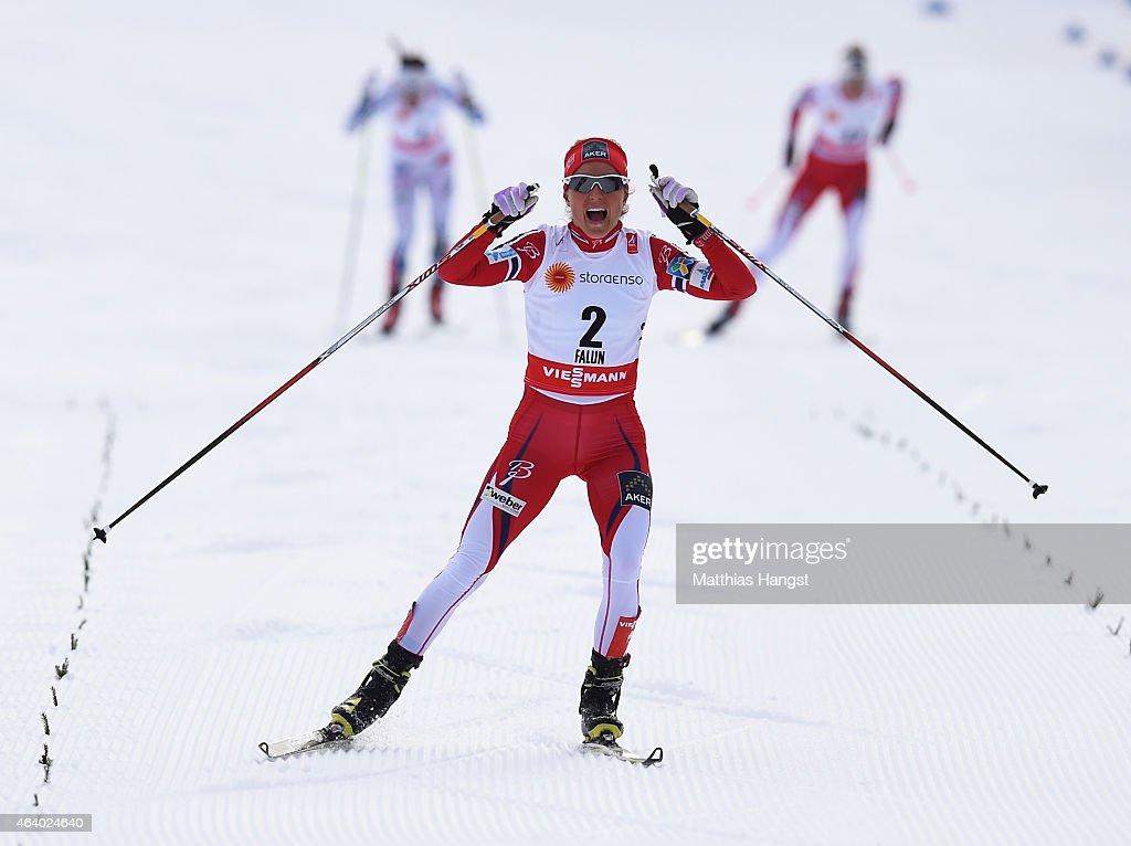 Men's and Women's Cross-Country Skiathlon - FIS Nordic World Ski Championships