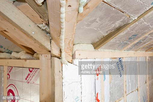 Insulating Walls Old House Stock Photos And Pictures
