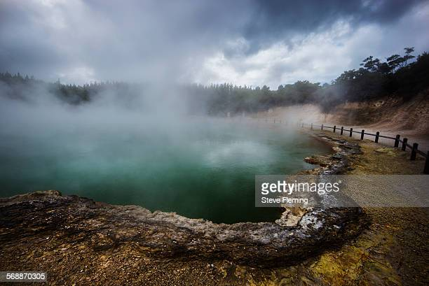 Thermal pool New Zealand