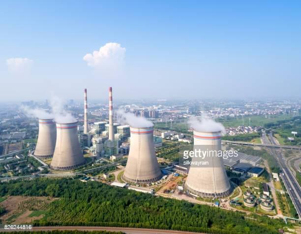 thermische elektriciteitscentrales, hoge hoekmening