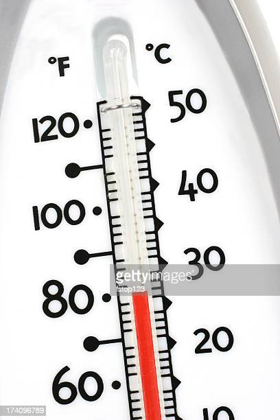 Thermometer showingTemperature