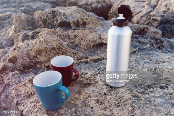 Thermos and cups