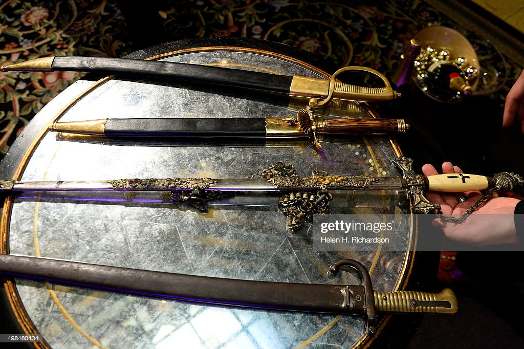 These are Napoleonic style sabers used to sever the bottlenecks from champagne bottles during The Brown Palace Hotel and Spa's 28th Annual Champagne...