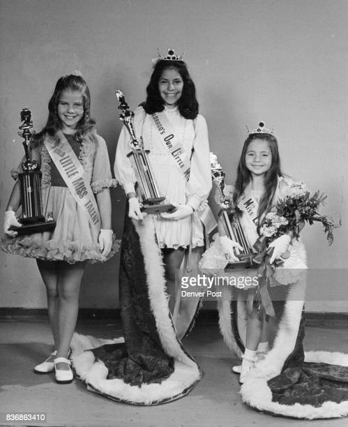 These Are The Winners in the Colorado Out Little Miss Contest From left are Beth Bennett Little Miss Talent Cynthia Martinez Our Little Miss Marie...