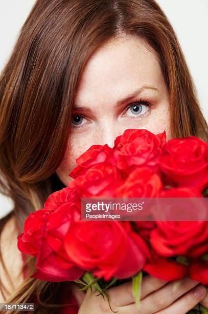 Diese Rosen riechen große