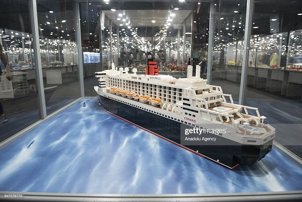 Worlds Biggest LEGO Brick Show In Krakow Pictures Getty Images - Biggest lego ship
