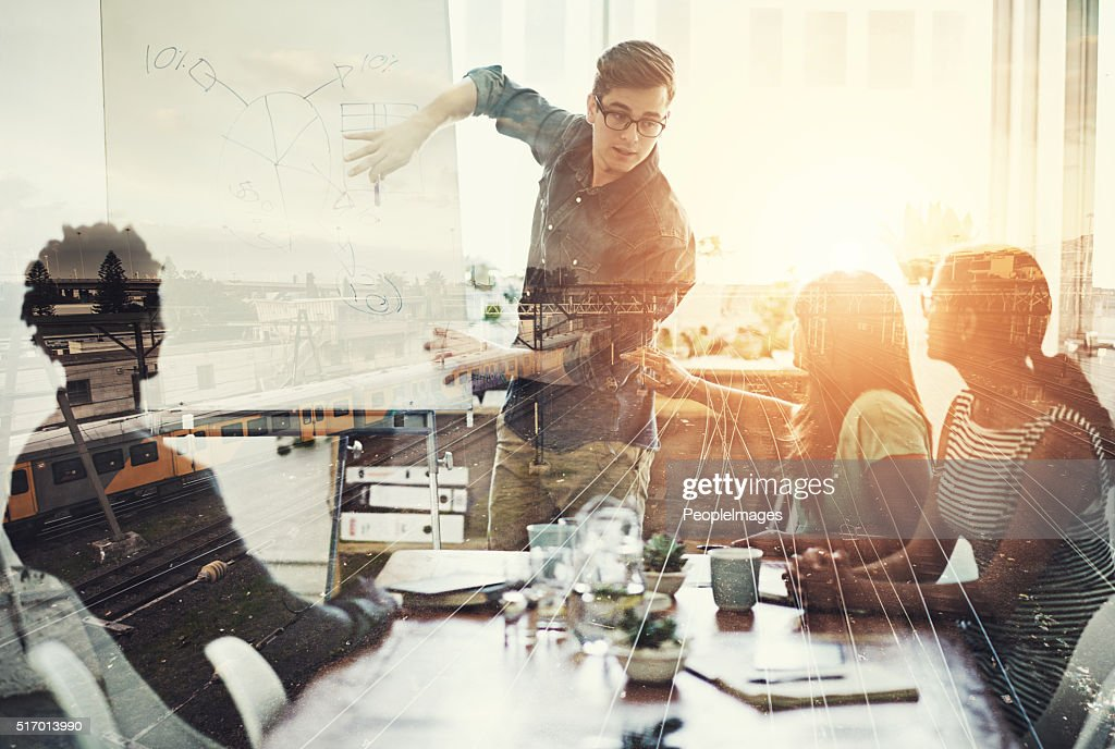 They are right on track : Stock Photo