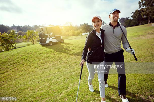 They love golfing