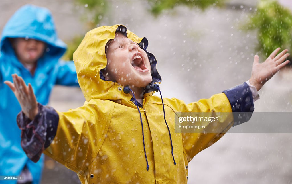 Ils adorent la pluie : Photo