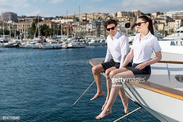 They love yachting!