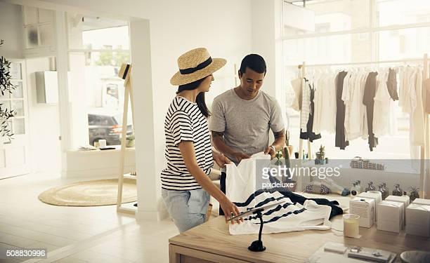 Sie nur Kleidung verkaufen