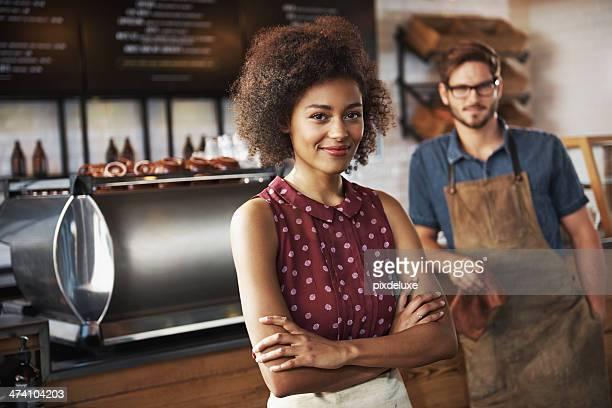 Laufen Sie Ihre eigenen coffee shop