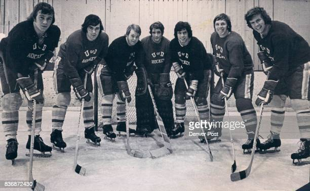 MAR 5 1973 MAR 6 1973 'They Shall Not Pass or Score Could Well be Theme Song for this Classy Group of Denver Hockey Defenders Goalie Ron Grahame is...