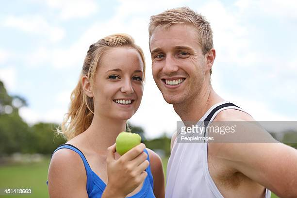 They share a passion for healthy living