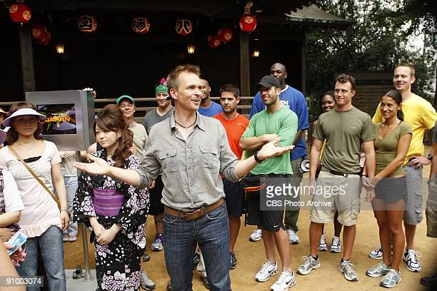 'They Thought Godzilla Was Walking Down the Street ' 2009 Emmy Award nominee host Phil Keoghan and team members of THE AMAZING RACE 15 race to the...