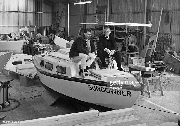 They were there inspecting the work that had been done to the boat April 1967 P005367