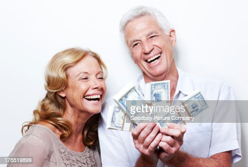 They're going to retire in style : Stock Photo
