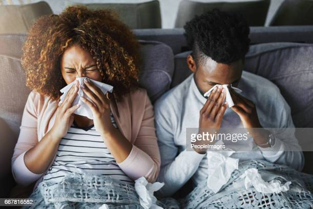 They're in the fight against flu together