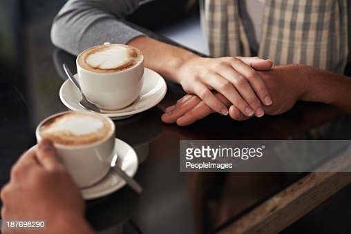 They're on a date : Stock Photo