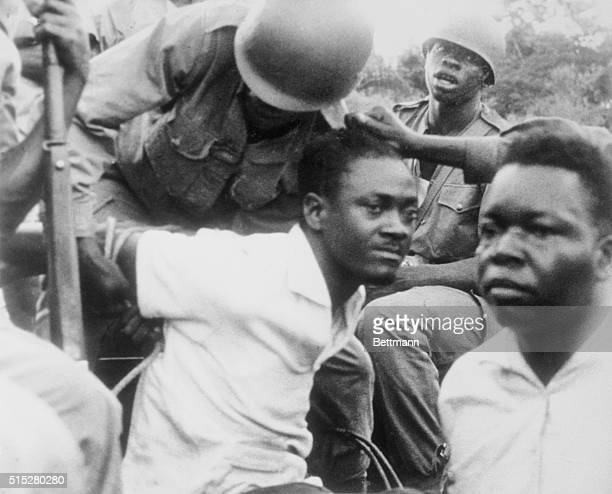 They've Got Him Leopoldville Congo His arms roped behind him ousted Congo Premier Patrice Lumumba is roughly handled by soldiers here Lumumba...