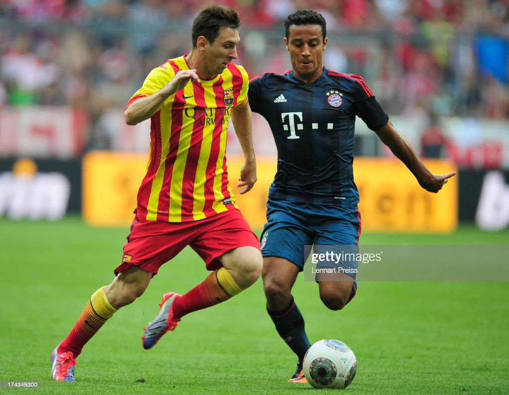 FC Bayern Muenchen v FC Barcelona - Uli Hoeness Cup