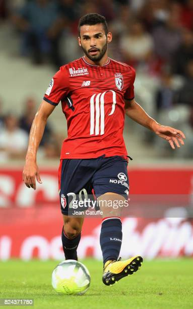 Thiago Maia of Lille during the preseason friendly match between Lille OSC and Stade Rennais FC at Stade Pierre Mauroy on July 29 2017 in Lille France