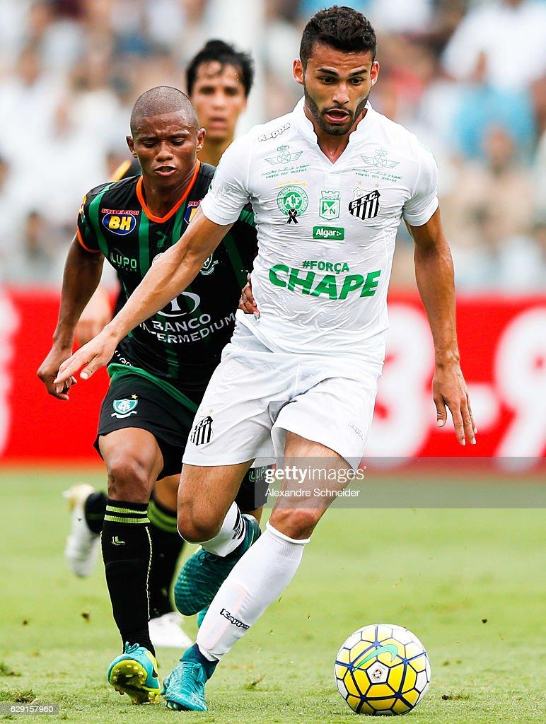 Santos v America MG - Brasileirao Series A 2016