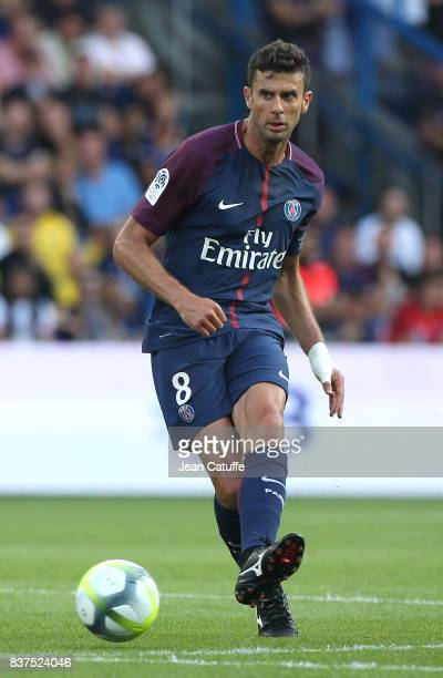 Thiago Motta of PSG during the French Ligue 1 match between Paris Saint Germain and Amiens SC at Parc des Princes on August 5 2017 in Paris France