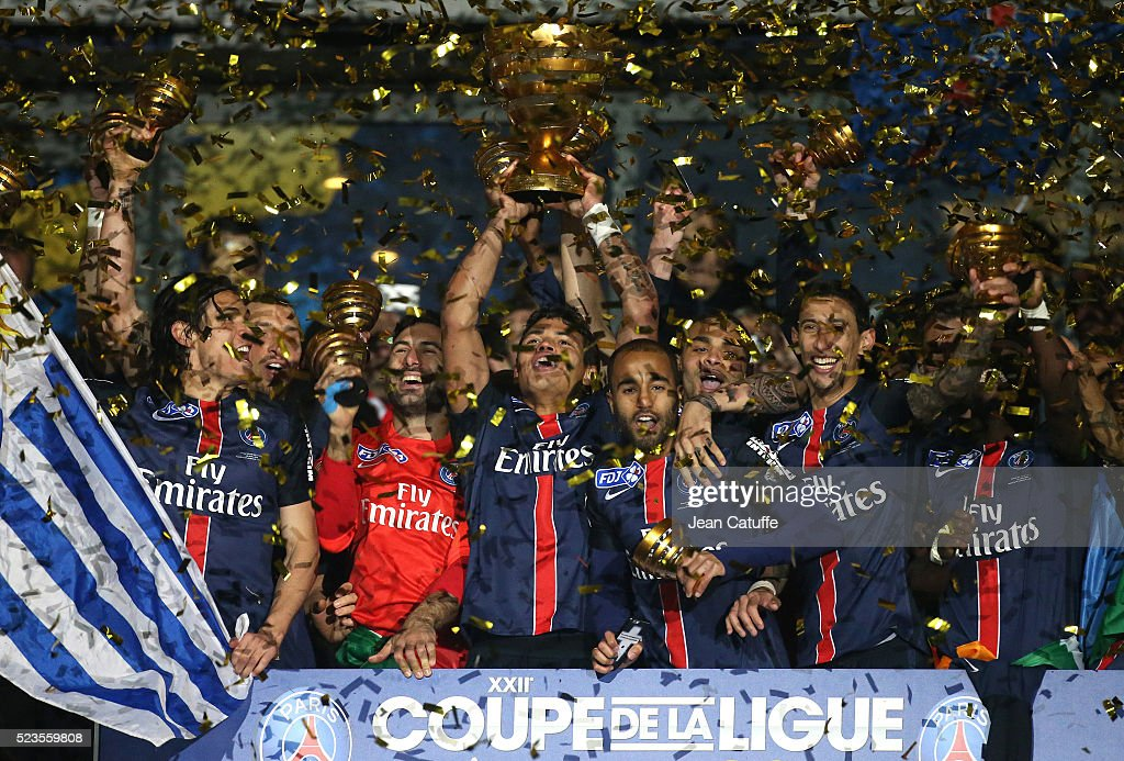 Paris Saint-Germain Vs Lille LOSC - Finale Coupe De La Ligue