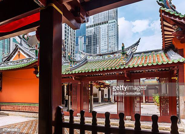 Thian Hock Keng Temple court yard