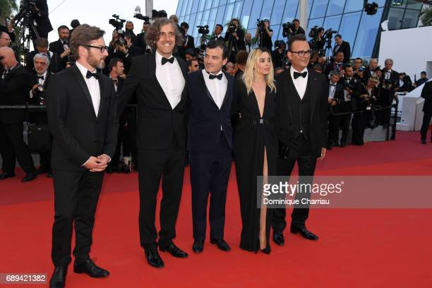 Thibault Carterot Elodie Bouchez Michel Merkt Guillaume Brac Fabien Gaffez and Patrick Blossier attend the Closing Ceremony during the 70th annual...
