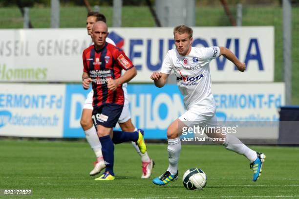 Thibault MOULIN Clermont / Chateauroux 6eme journee de Ligue 2