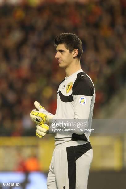 Thibaut Courtois Belgium goalkeeper