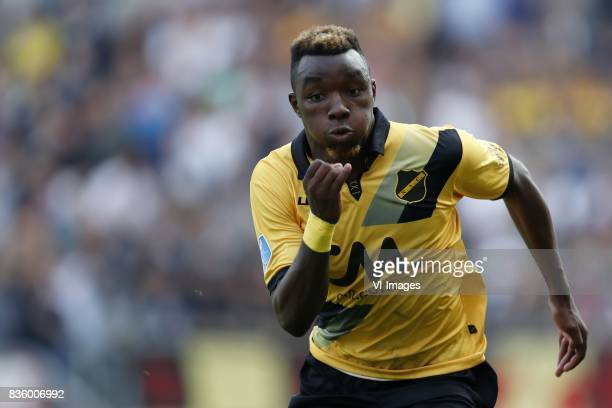 Thierry Ambrose of NAC Breda during the Dutch Eredivisie match between NAC Breda and PSV Eindhoven at the Rat Verlegh stadium on August 20 2017 in...