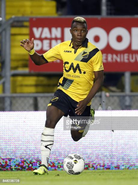 Thierry Ambrose of NAC Breda during the Dutch Eredivisie match between NAC Breda and FC Groningen at the Rat Verlegh stadium on September 16 2017 in...