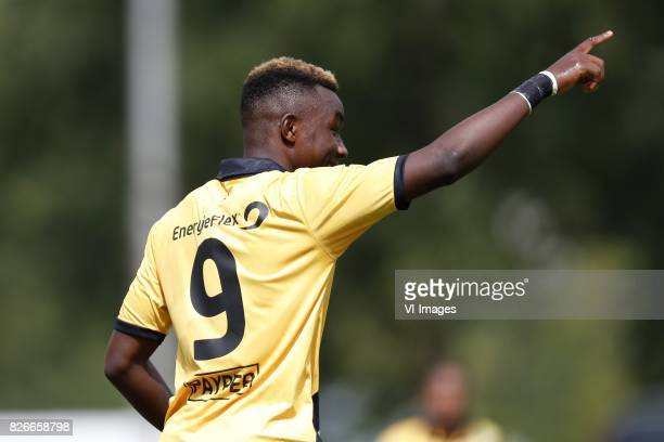 Thierry Ambrose of NAC Breda during the friendly match between NAC Breda and Almere City FC at Sportpark Ruitersboslaan on August 05 2017 in Breda...