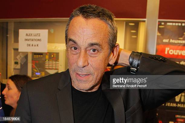 Thierry Ardisson at Theatre du Grand PointVirgule on October 22 2012 in Paris France
