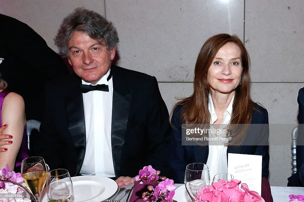 <a gi-track='captionPersonalityLinkClicked' href=/galleries/search?phrase=Thierry+Breton&family=editorial&specificpeople=536439 ng-click='$event.stopPropagation()'>Thierry Breton</a> and actress <a gi-track='captionPersonalityLinkClicked' href=/galleries/search?phrase=Isabelle+Huppert&family=editorial&specificpeople=662796 ng-click='$event.stopPropagation()'>Isabelle Huppert</a> attend the AROP Charity Gala with play of 'La Traviata'. Held at Opera Bastille on June 5, 2014 in Paris, France.