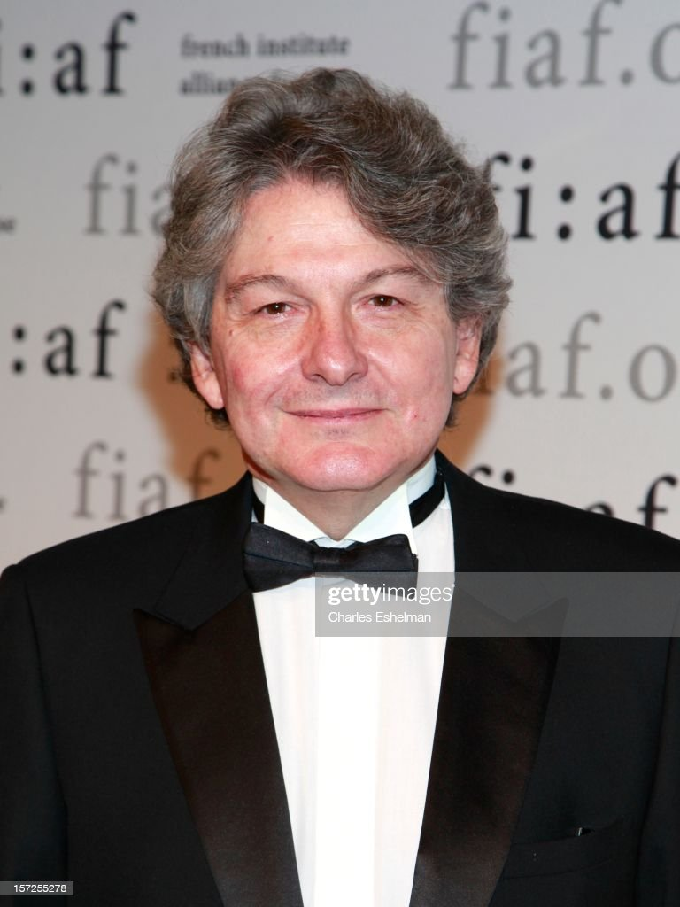 <a gi-track='captionPersonalityLinkClicked' href=/galleries/search?phrase=Thierry+Breton&family=editorial&specificpeople=536439 ng-click='$event.stopPropagation()'>Thierry Breton</a> attends the 2012 Trophee Des Arts gala at The Plaza Hotel on November 30, 2012 in New York City.