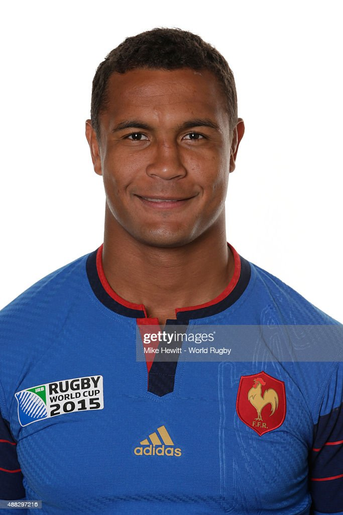 <a gi-track='captionPersonalityLinkClicked' href=/galleries/search?phrase=Thierry+Dusautoir&family=editorial&specificpeople=544025 ng-click='$event.stopPropagation()'>Thierry Dusautoir</a> of France poses during the France Rugby World Cup 2015 squad photo call at the Selsdon Park Hotel on September 15, 2015 in Croydon, England.
