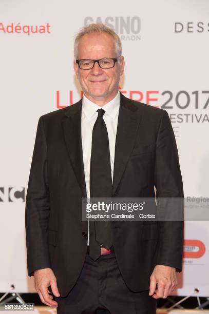 Thierry Fremaux attends the Opening Ceremony of the 9th Film Festival Lumiere on October 14 2017 in Lyon France