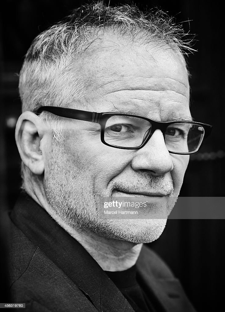 Thierry Fremaux is photographed for Le Film Francais on September 23, 2014 in Paris, France.